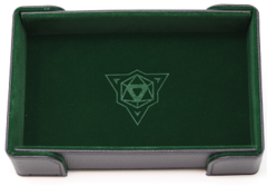Die Hard Magnetic Folding Dice Tray Green