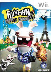Nintendo Wii Rayman Raving Rabbids 2 [In Box/Case Complete]