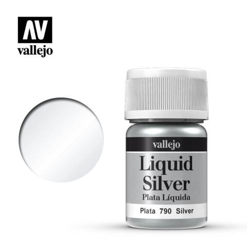 VAL70790 Silver, Alcohol Based 35ml