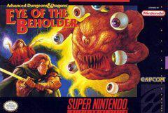 Super Nintendo (SNES) Advanced Dungeons & Dragons Eye of the Beholder [In Box/Case Complete]