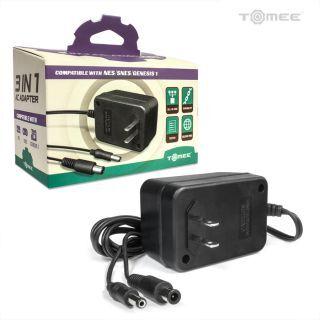 Tomee 3-in-1 AC Adapter (NES/SNES/Genesis Model 1)
