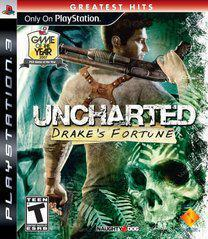 Sony Playstation 3 (PS3) Uncharted Drakes Fortune Greast Hits