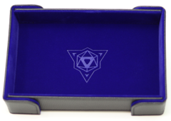 Die Hard Magnetic Folding Dice Tray Blue