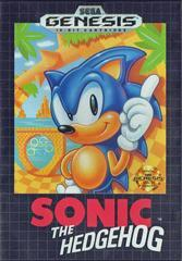 Sega Genesis Sonic the Hedgehog [Loose Game/System/Item]