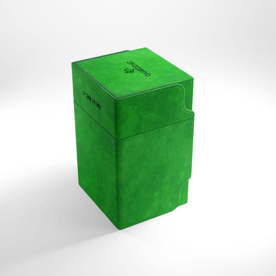 Gamegenic Watchtower 100+ Convertible Deck Box Green