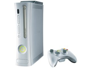 Microsoft Xbox 360 Console (1 Wireless Controller, 60GB HDD, Av & HDMI Cables, Power Cables)