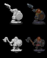 Nolzur's Marvelous Miniatures - Dwarf Fighter (Male) Wave 11