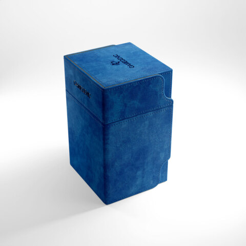 Gamegenic Watchtower 100+ Convertible Deck Box Blue