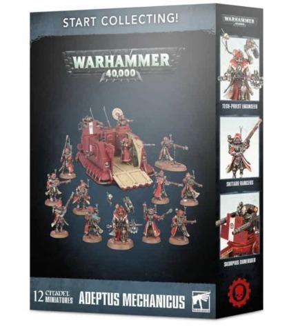 Warhammer 40k Start Collecting! Adeptus Mechanicus