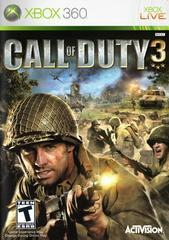 Microsoft Xbox 360 (XB360) Call of Duty 3 [In Box/Case Missing Inserts]