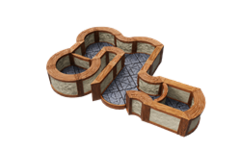 Warlock Tiles: Town & Village- 1 Angles and Curves Expansion