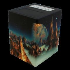 Pirate Lab - Defender Deck Box - Artwork Series - Lunar Landscape