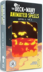 The Deck Of Many Animated Spells: Level 3 M-Z