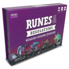 Runes & Regulations - Nefarious Neighbors Expansion