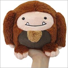 Mini Squishable Bigfoot