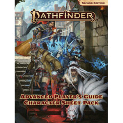 Pafthfinder 2E RPG: Advanced Player's Guide Character Sheet Pack