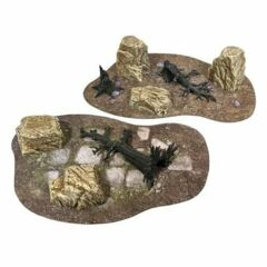 Monster Fight Club: Barren Ground - Prepainted Terrain