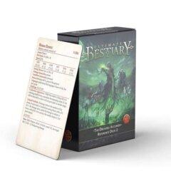 Ultimate Bestiary: The Dreaded Accursed: Reference Deck 2