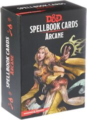 Dungeons and Dragons 5th Edition RPG: Spellbook Cards - Arcane