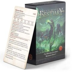 Ultimate Bestiary: The Dreaded Accursed: Reference Deck 1