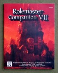 Rolemaster Companion VII