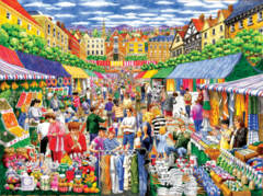 A Day at the Marketplace 1000 pc Puzzle