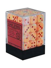 CHX 27853 - 36 Sunburst w/ Red Festive 12mm d6 Dice