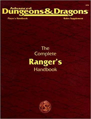 AD&D The Complete Rangers Handbook