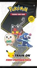 Pokemon TCG First Partner Pack - Alola 3 Jumbo Cards + 2 Booster Packs