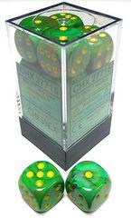 12 Slime w/ Yellow d6 - CHX 27715
