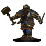 Dungeons & Dragons Nolzur`s Marvelous Unpainted Miniatures: Dwarf Male Fighter