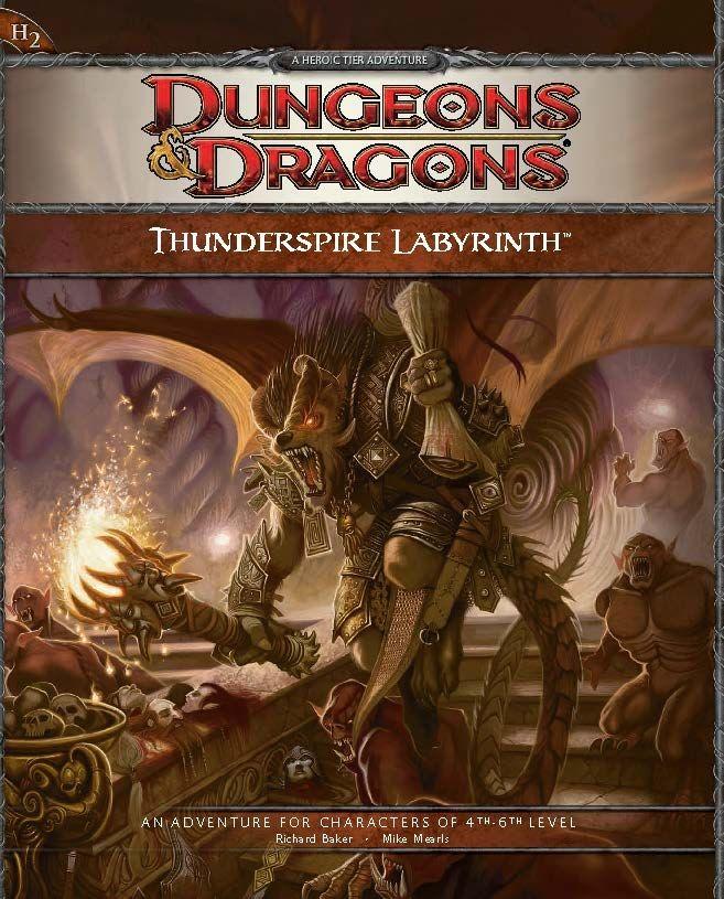 D&D Fourth Edition: Thunderspire Labyrinth