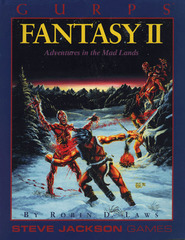 GURPS: Fantasy II - Adventure in the Mad Lands