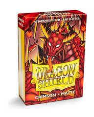 Dragon Shield: Mini Sleeves - Matte Crimson (60 ct.)