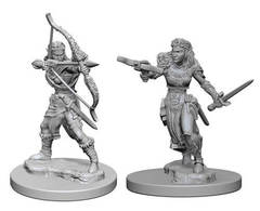 Nolzur's Marvelous Unpainted Miniatures - Elf Ranger (Female)