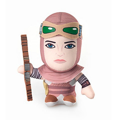 Star Wars The Force Awakens Rey Super Deformed Plush