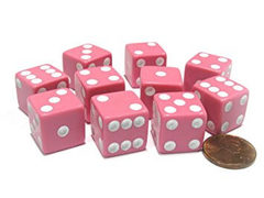 Ten D6 Pink with White