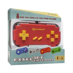 Pixel Art SNES-Style USB Controller for PC/ Mac (Red)