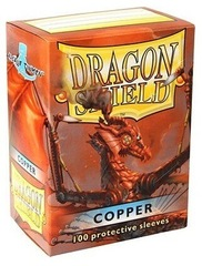 Dragon Shield: Standard Sleeves - Copper (100ct)