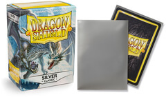 Dragon Shield: Standard Sleeves - Silver (100ct)