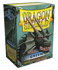 Dragon Shield Green 100ct.