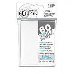 Eclipse Matte 60ct Small White Sleeves