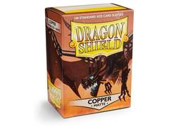 Dragon Shield: Standard Sleeves - Copper Matte (100ct)