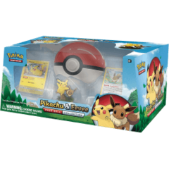 Pokemon: Pikachu & Eevee Poké Ball Collection Item # NDPK80407