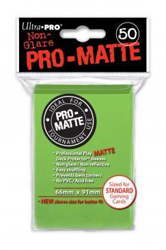 Ultra Pro Standard Sleeves - Matte Lime Green (50ct)