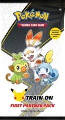 Pokemon TCG First Partner Pack - Galar 3 Jumbo Cards + 2 Booster Packs