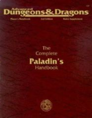 The Complete Paladin's Handbook Advanced Dungeons and Dragons 2nd Edition 1994