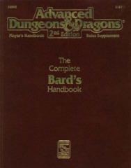 AD&D 2nd Edition - The Complete Bard's Handbook