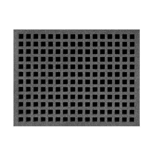 Full Size 2 Depth Snip Foam for Miniatures Black