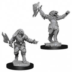 Dungeons & Dragons Nolzur`s Marvelous Unpainted Miniatures: Dragonborn Female Fighter